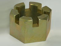 Special Large Diameter Slotted Nuts